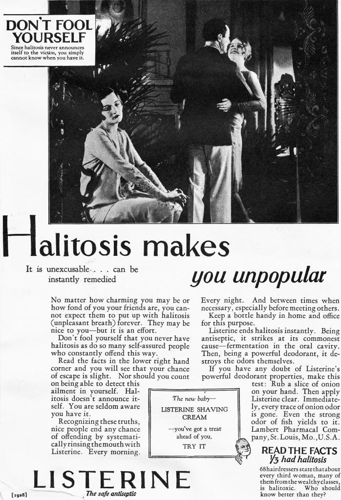 Listerine Brilliant Ad Campaign example